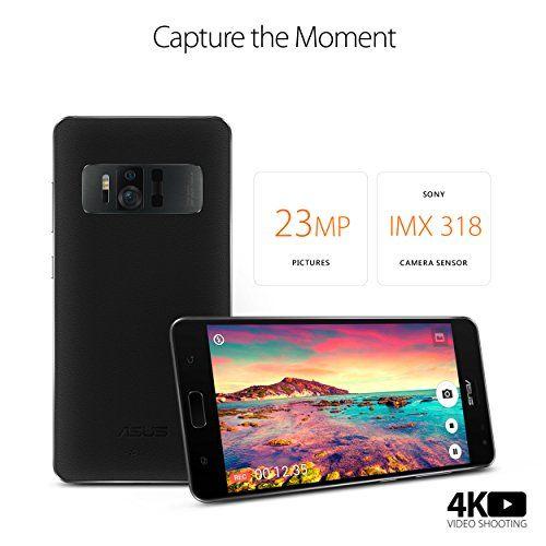 ASUS ZenFone Unlocked Phone Black (U S Warranty | virtual