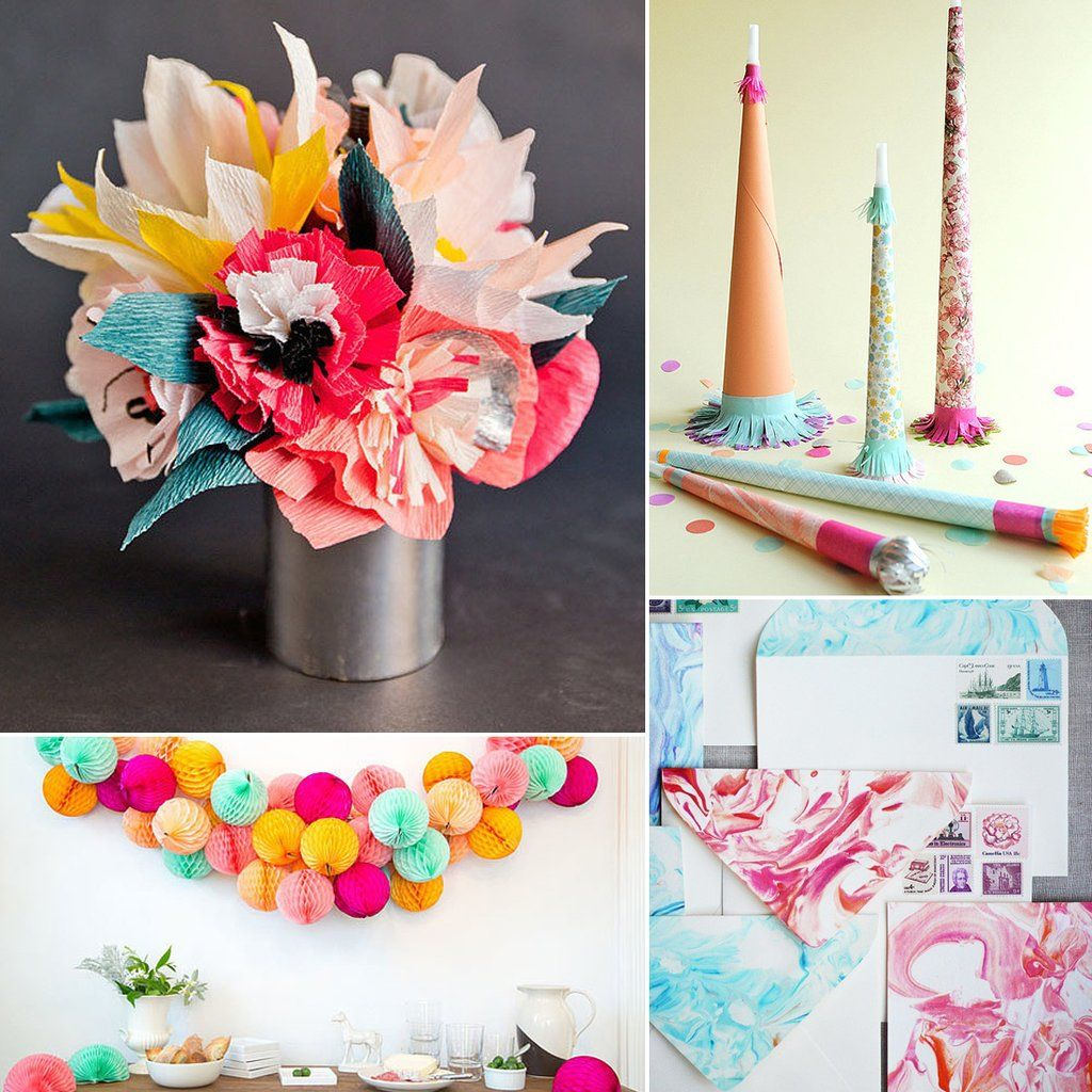 17 Diys For A Quirky Cool Wedding Filled With Color Diy Wedding