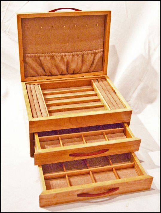 25 Awesome DIY Jewelry Box Plans for Mens and Girls Drawers Box