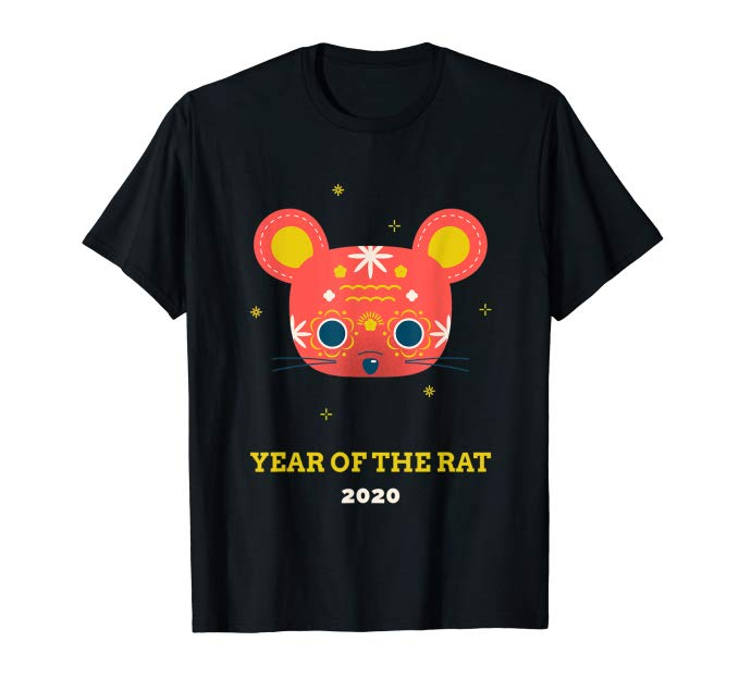 Year Of The Rat 2020 Happy Chinese New Year