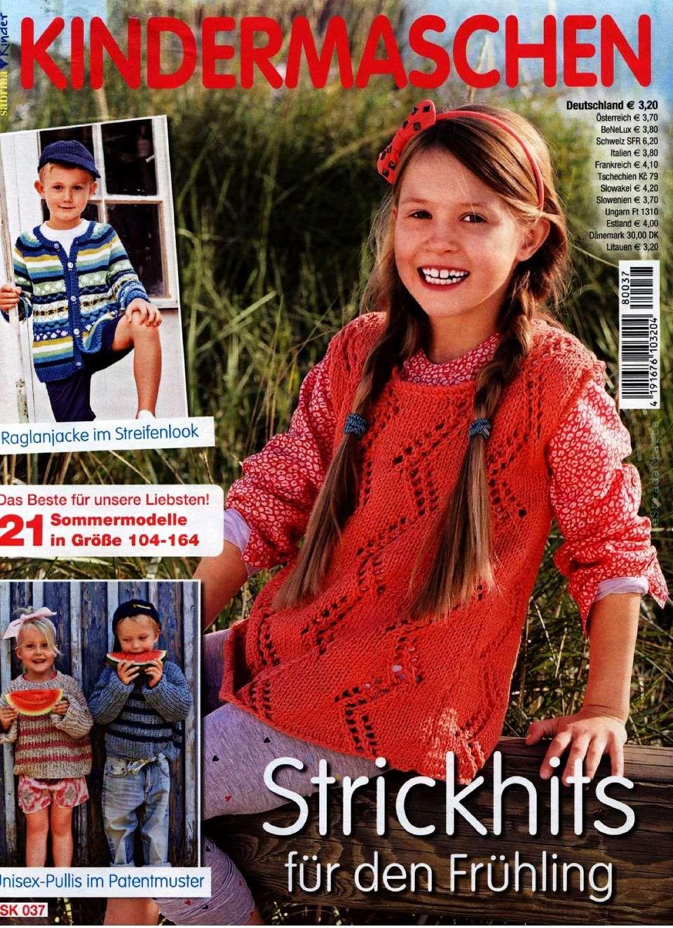 Sabrina Kinder Sk 037 Kindermaschen 2018 Handmade Magazines