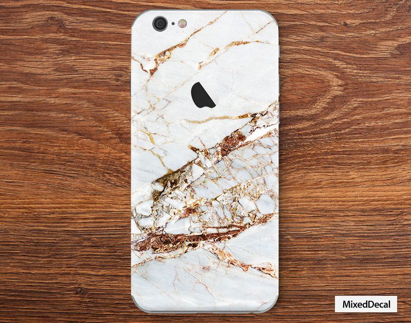 Iphone 6 sticker iphone plus 6 decal back decal iphone 6 stickers decals marble iphone 5