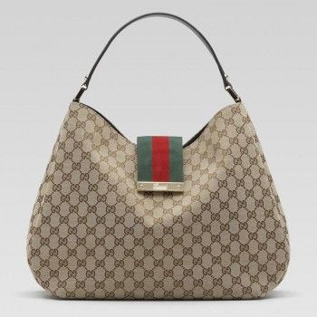 7c66114f69 Gucci 211933 Ftatg 9791 Damen Web'Large Hobo Gucci Damen Handtaschen ...