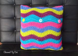 Ripple cushion.