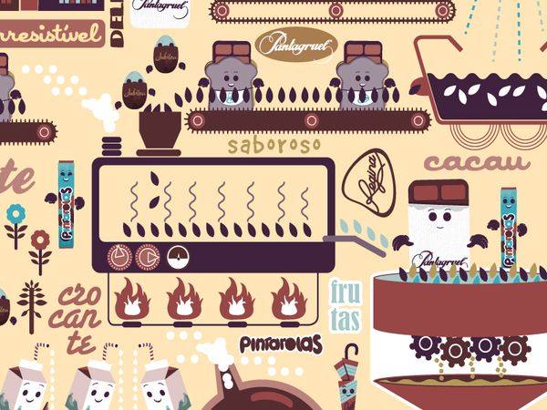 Imperial - Chocolate Factory by Henrique Leite, via Behance
