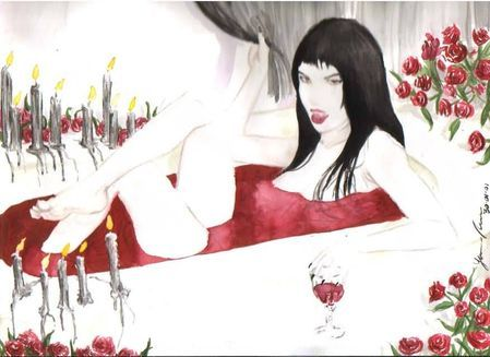 vampire countess who bathed in blood - 449×327