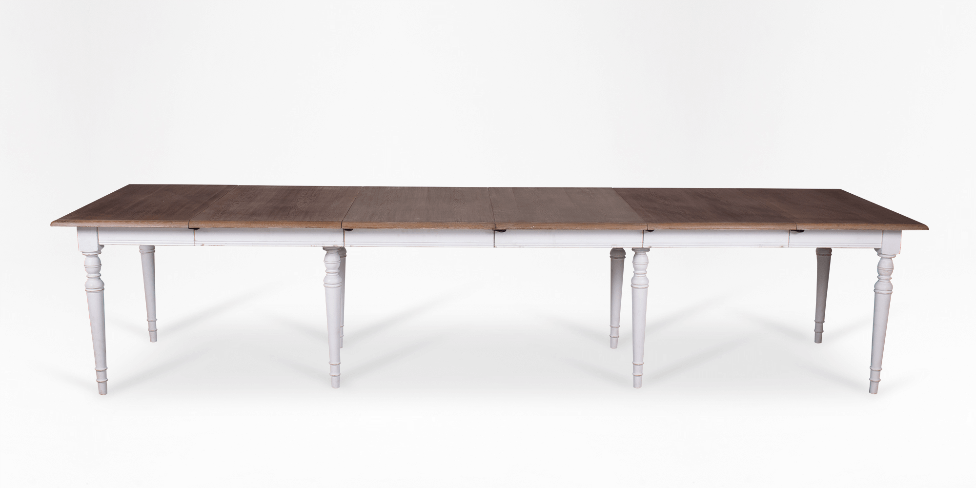 FURNISH 1 Dining table MDF top office table with metal structure Adjustable Scandinavian kitchen table Extensible