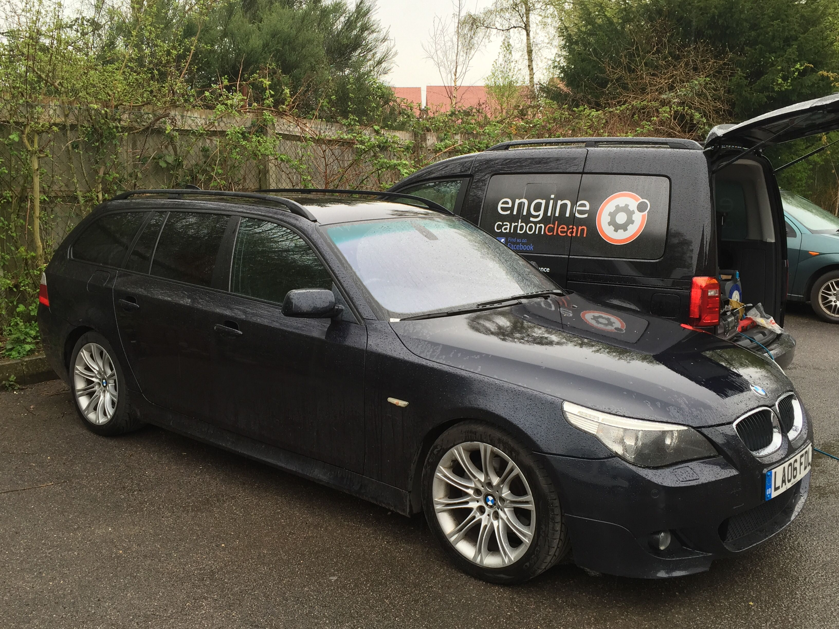 Bmw 520d Having An Engine Carbon Clean Economy Performance