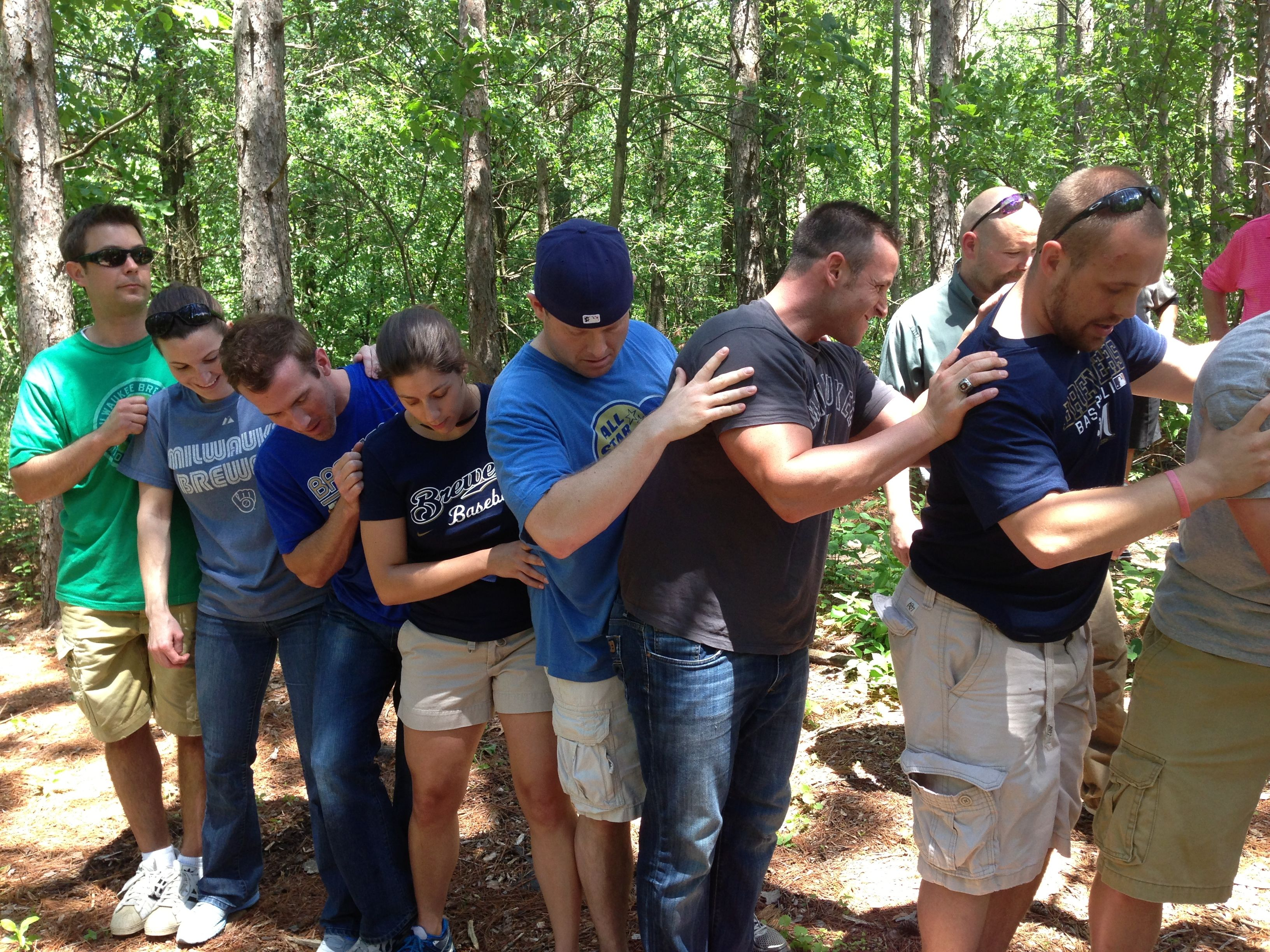 outdoor team building activities for work