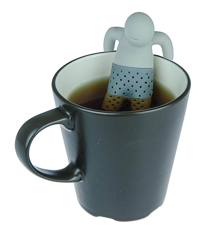 Teemännchen, Mr Tea in grau (6 verschiedene Farben erhältlich ...