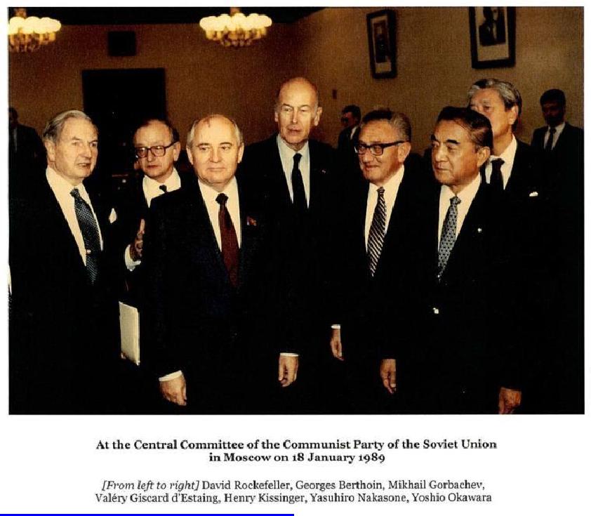 Výsledok vyhľadávania obrázkov pre dopyt gorbachev rockefeller moscow