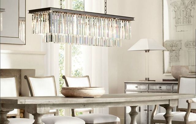 Best Price American Country Crystal Chandelier Dining Room