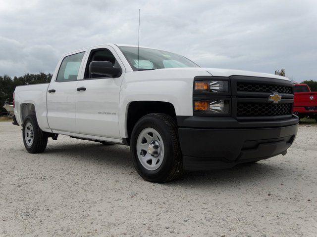 2014 Chevrolet Silverado 1500 Work Truck Crew Cab 4x2 White