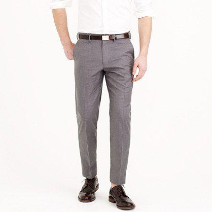 Grey Twill Pants