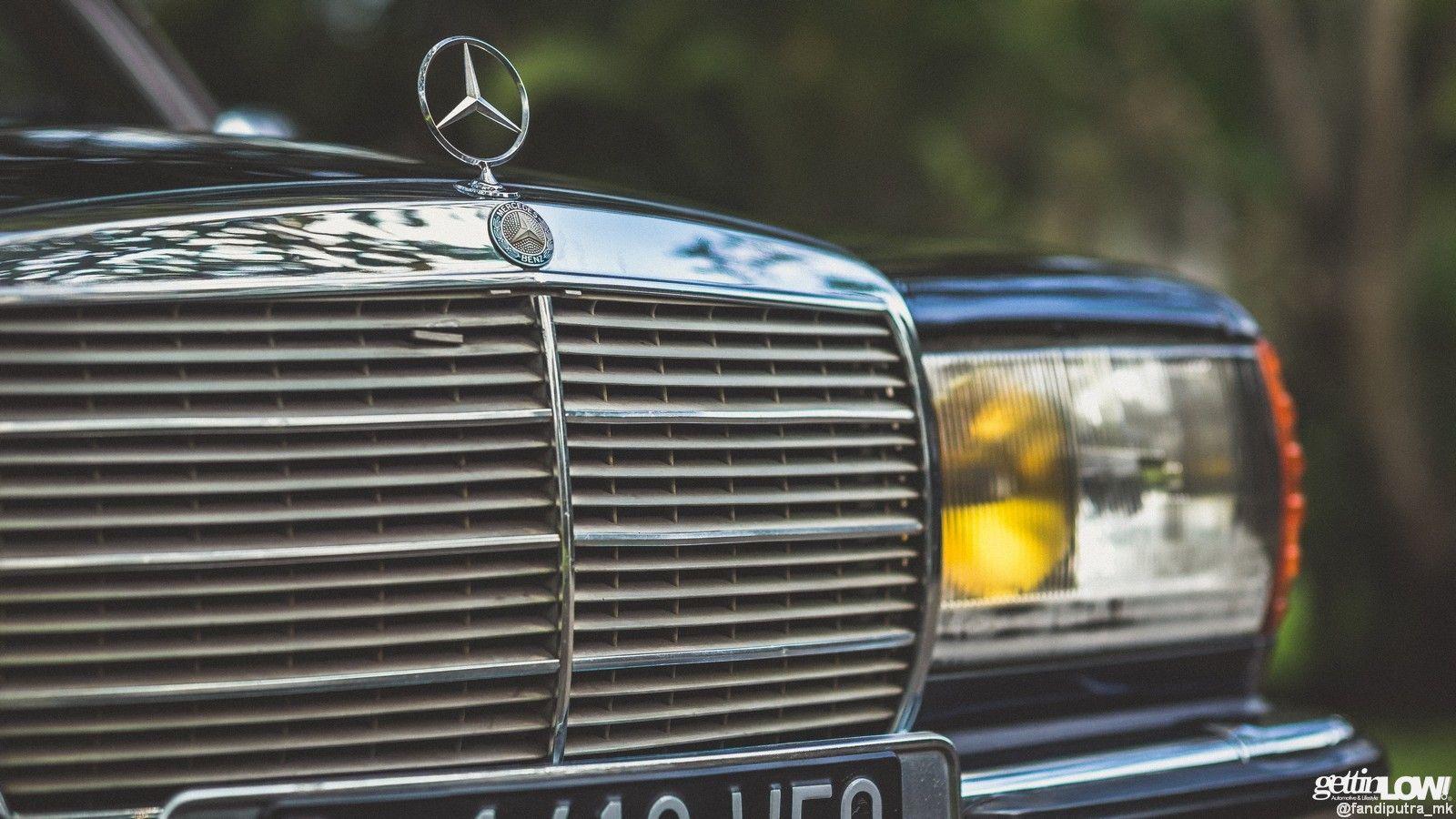 Mercedes Benz Classic Vintage Old German Car Stanceworks