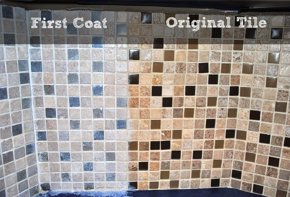 This Modest Home: How to Whitewash Your Backsplash!