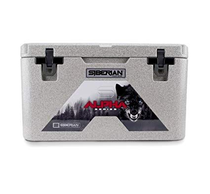 Siberian Coolers Alpha Pro Series 45 Quart In Granite Bear Resistant Includes Accessories Review