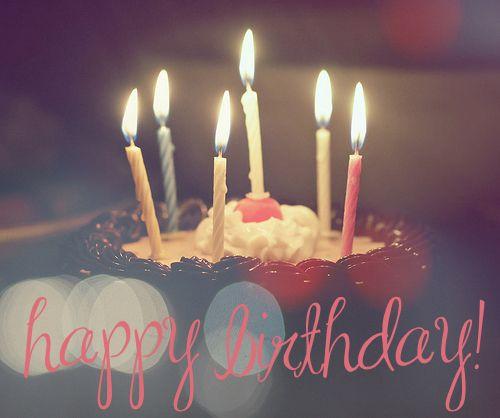Happy Birthday 3 On We Heart It Free Birthday Stuff Happy Birthday Wishes Birthday Deals