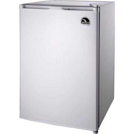 Igloo 4.5 cu. ft. Refrigerator and Freezer, White