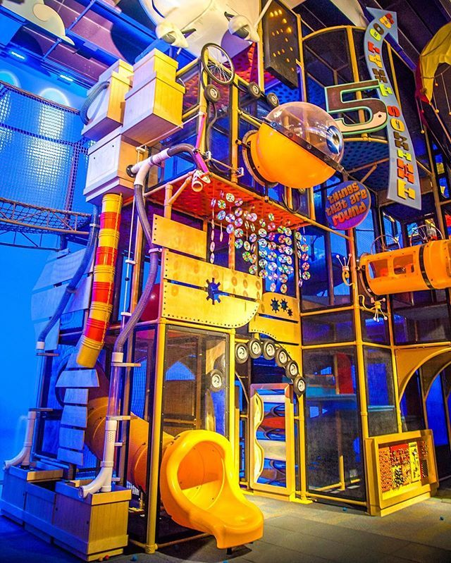 A Small Portion Of What We Consider The Ultimate Playground Just One Of The Many Great Parts Of Curiocity Science Museu Family Travel Travel Usa Vacation Usa