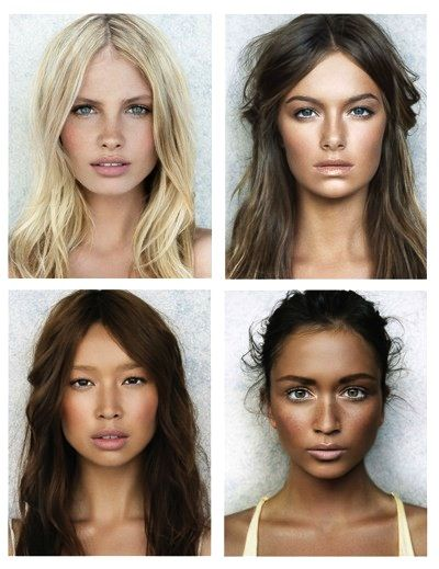 Love the subtle, dewy glow of this natural makeup look.
