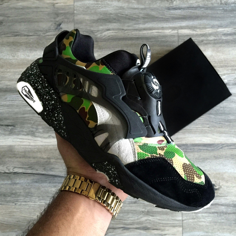 4915b2e0f32 PUMA x Bape Blaze Disc Sneakers