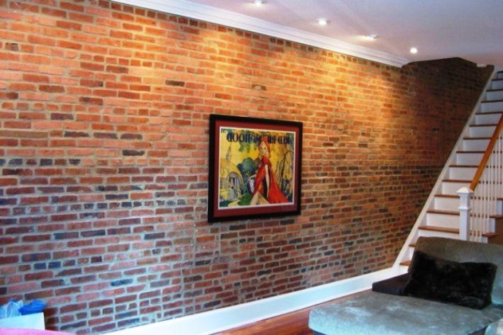 Interiorpin Com Faux Brick Panels Brick Wall Paneling Brick Interior Wall