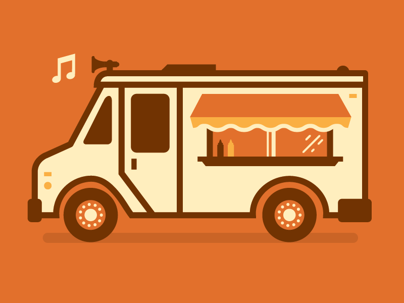 I Scream You We All For Food Trucks By Michael Smith Want