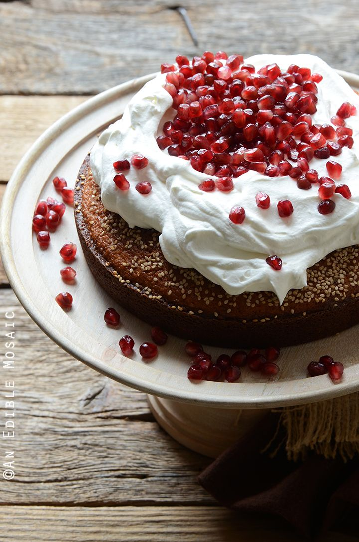 Cardamom Saffron Cake Recipe {Inspired by the Kuwaiti Cake Qors Oqaily} #dessert #baking