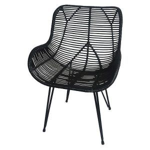 Wicker Accent Chair Black Threshold At Target 94 99
