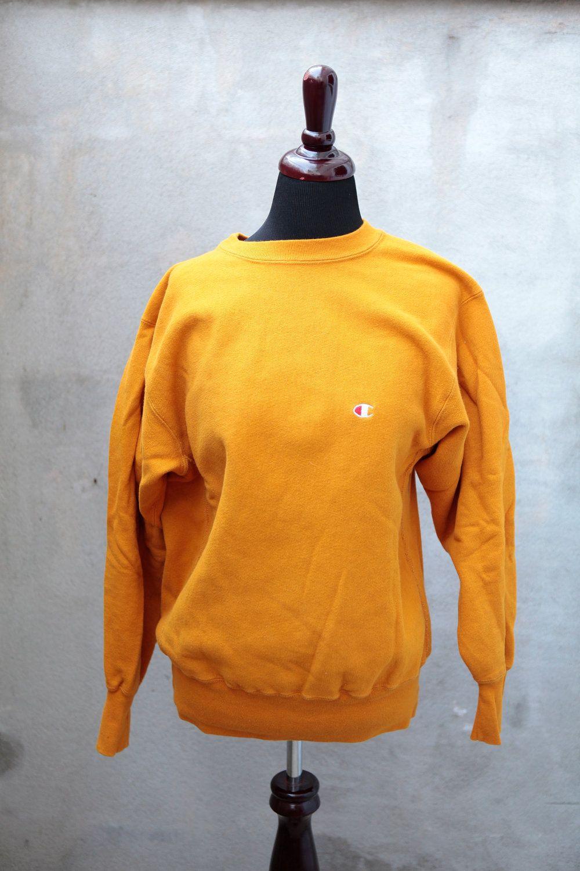 Vintage CHAMPION REVERSE WEAVE Crew Neck Sweatshirt - 1980's size ...