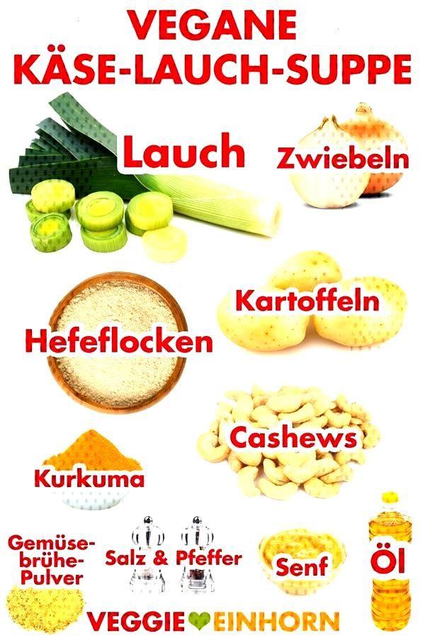 Vegan cheese and leek soup -  Delicious vegan cheese and leek soup with potatoes. Vegetarian, witho
