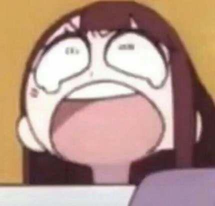 Funny Face Meme Little Girl 46 New Ideas Anime Meme Face Anime Memes Funny Anime Faces Expressions