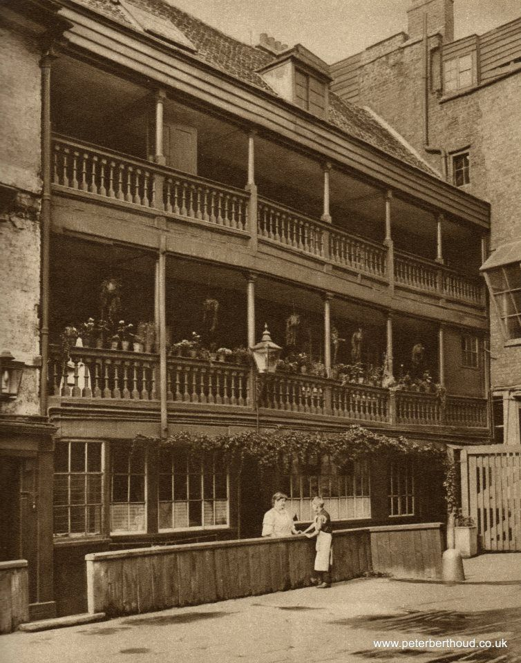 The George Inn, Southwark, circa 1926