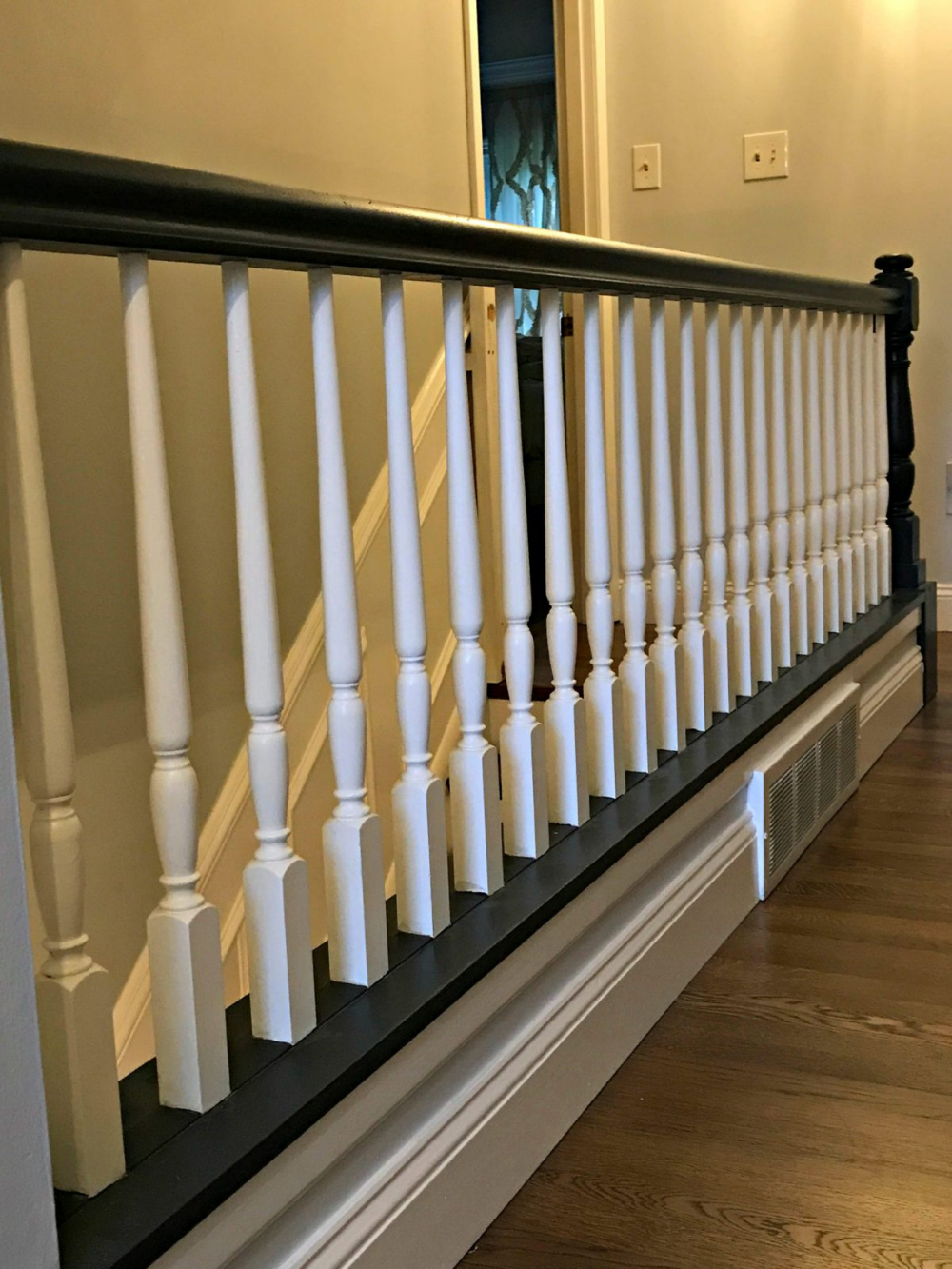 Best Fear Not The Stair Rail Redo In 2020 Stair Railing 640 x 480