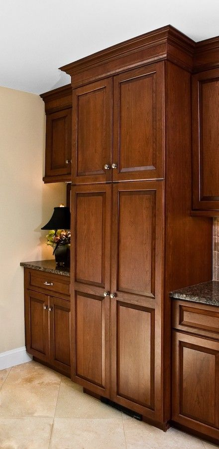 I like these cabinets LOTS OF STORAGE: This idea would ...