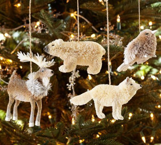 20 unique animal ornaments not just for your christmas tree - Animal Christmas Decorations