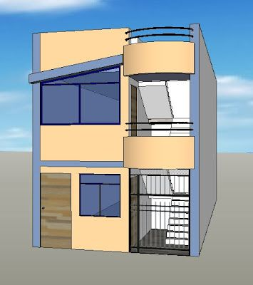 Fachadas y casas casas con fachadas de 4 metros for Fachadas de casas modernas de 6 metros