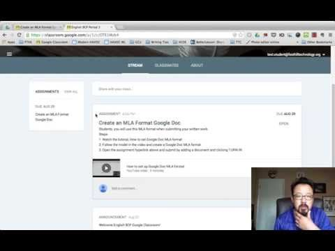 How to Turn In an assignment in Google Classroom - YouTube