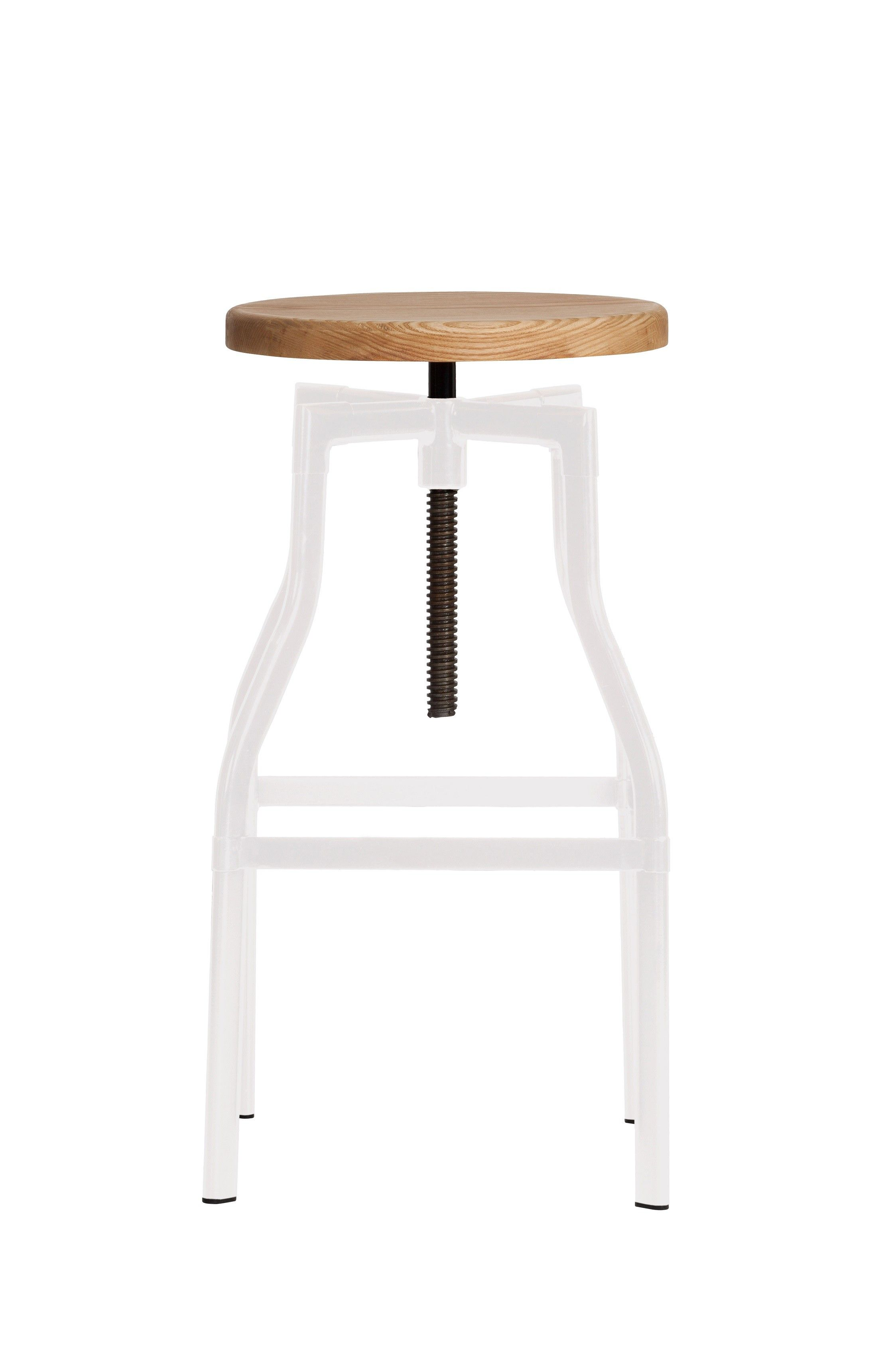 Replica Turner Industrial Bar Stool Large - White -- This chic ...