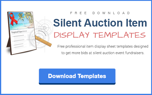 silent auction gift certificate templates