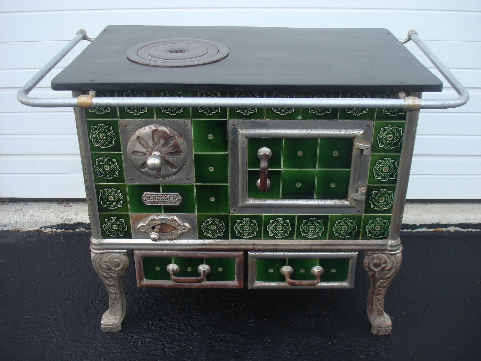 Belgium ceramic tile stove oven cute pinterest stove oven belgium ceramic tile stove oven doublecrazyfo Gallery