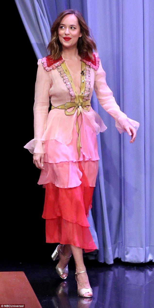 Dakota Johnson drops \'F\' bomb during Jimmy Fallon appearance ...