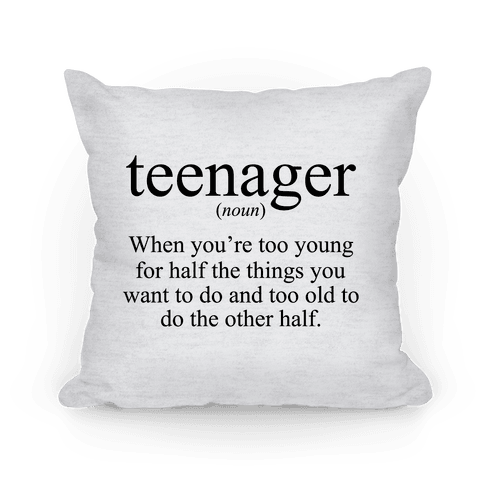 Teenager Definition - Teenager: when you're too young for half the things you want to do an too old to do the other half. Being a teen is the absolute worst.  teenagerpostssotrue