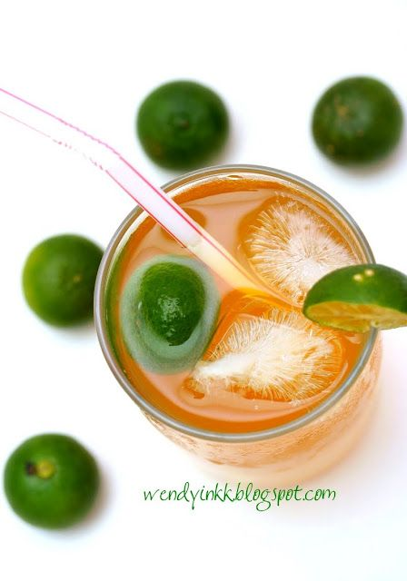 Iced Calamansi Tea