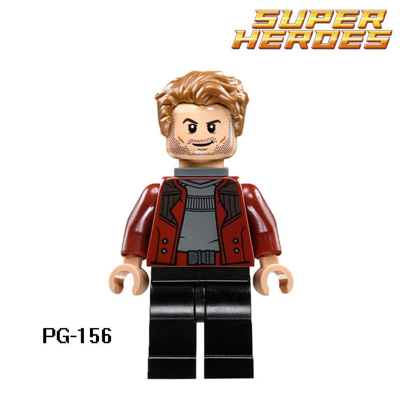 Infinity War LEGO® Superheroes from 76107 Peter Quill Star Lord Minfiig