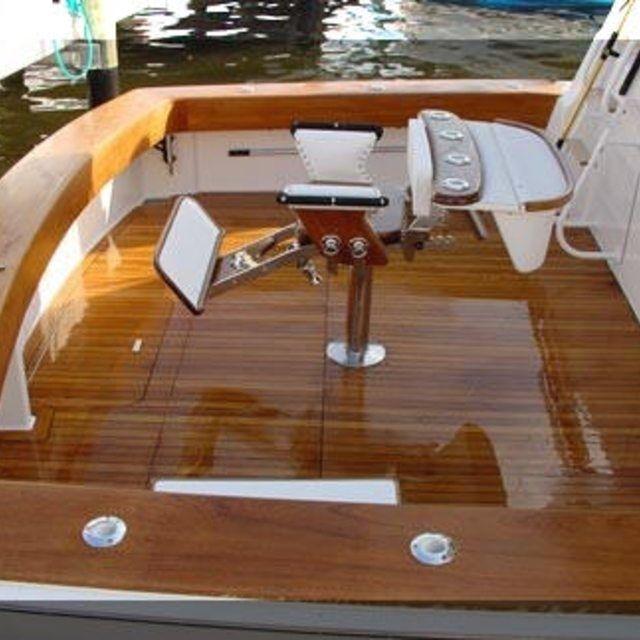 How to Refinish Boat Wood Teak | Boat interior, Teak ...