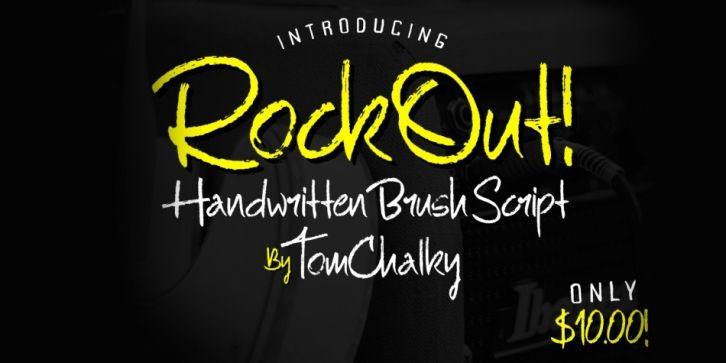 Download Rock Out Font DOWNLOAD #font #fonts #typography #typeface ...