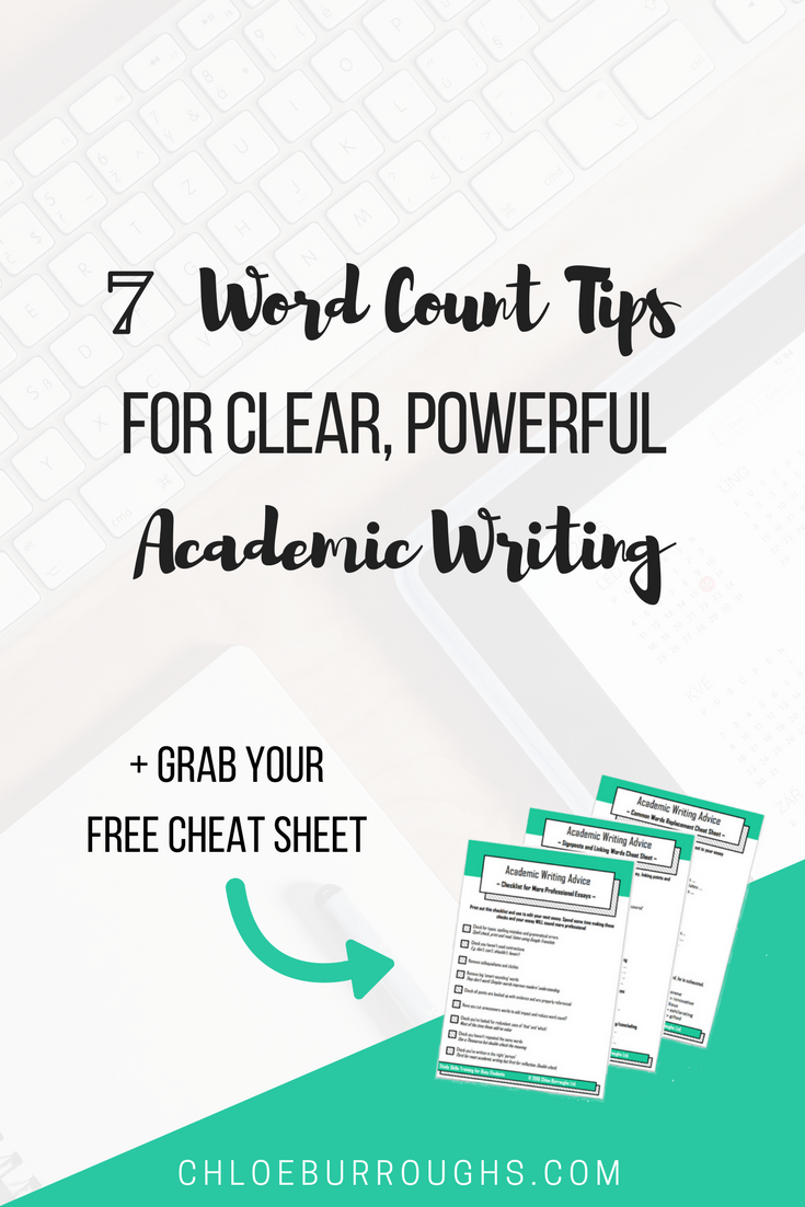 Reduce your word count, improve your academic writing and get higher university or college grades