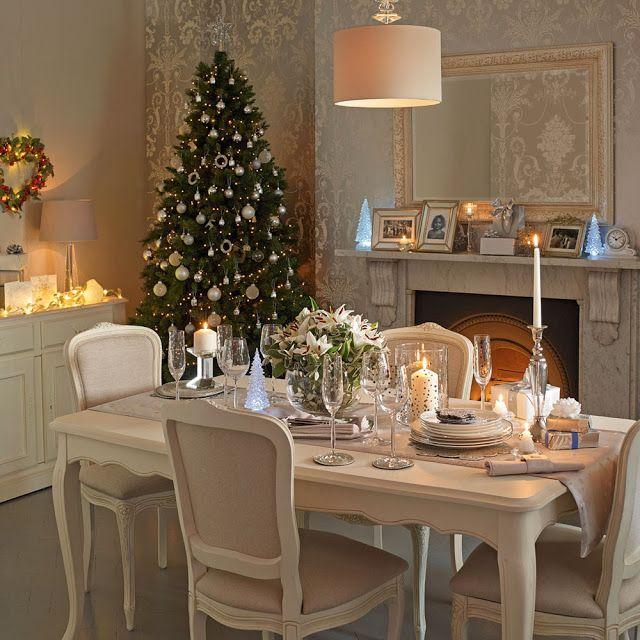 Navidad laura ashley decoraci n navide a pinterest for Comedores ashley